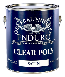 General Finishes Satin Enduro Clear Poly, Gallon