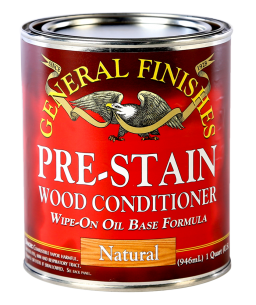 General Finishes Natural Oil Based Pre-Stain Wood Conditioner, Quart