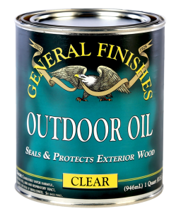 Water Based Exterior 450 Clear Outdoor Wood Finish General Finishes