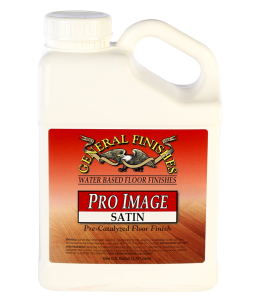 General Finishes Satin Pro Image Flooring Topcoat, Gallon
