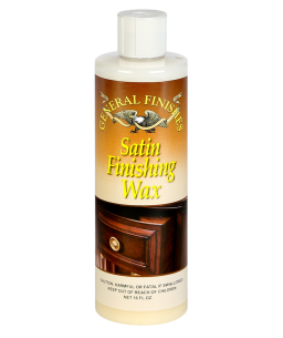 General Finishes Satin Finishing Wax, 16 oz Bottle
