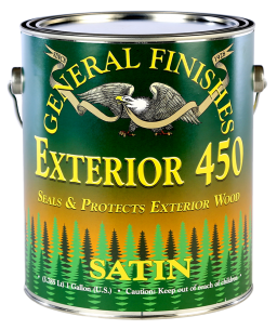 General Finishes Exterior 450 Water Based Topcoat