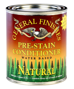General Finishes Natural Water Based Pre-Stain Wood Conditioner, Quart