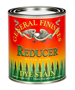 General Finishes Reducer Water Based Dye Stain, Quart