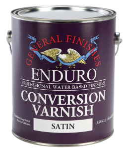 General Finishes Satin Enduro Conversion Varnish, Gallon