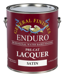 General Finishes Pre-Cat Lacquer, Satin, Gallon