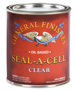General Finishes Clear Oil Based Seal-a-Cell, Quart